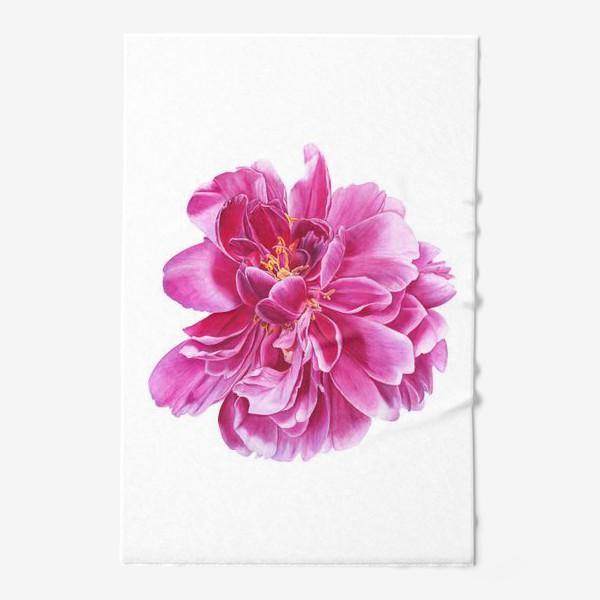 Полотенце «Розовый пион»