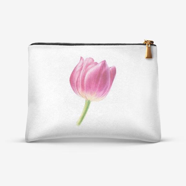 Косметичка «Розовый тюльпан»