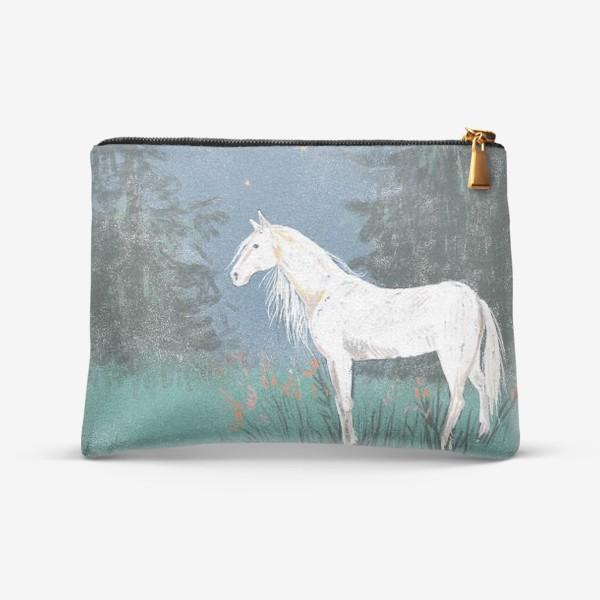 Косметичка «Белая лошадь»