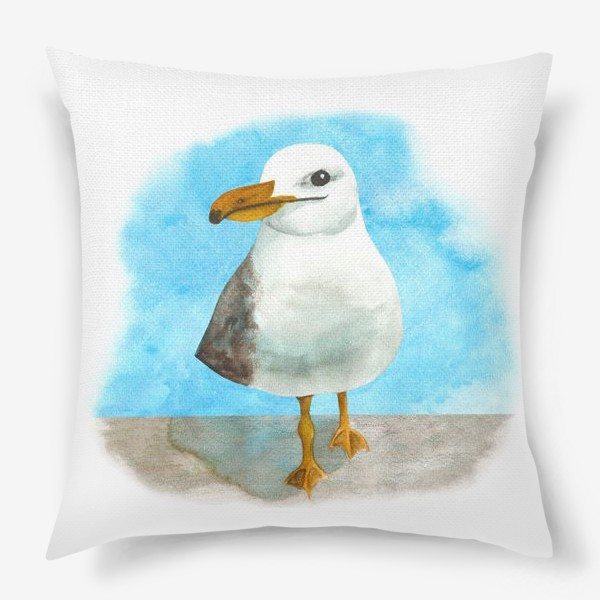 Подушка «Морская чайка»