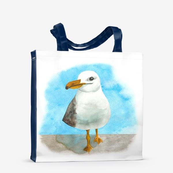 Сумка-шоппер «Морская чайка»