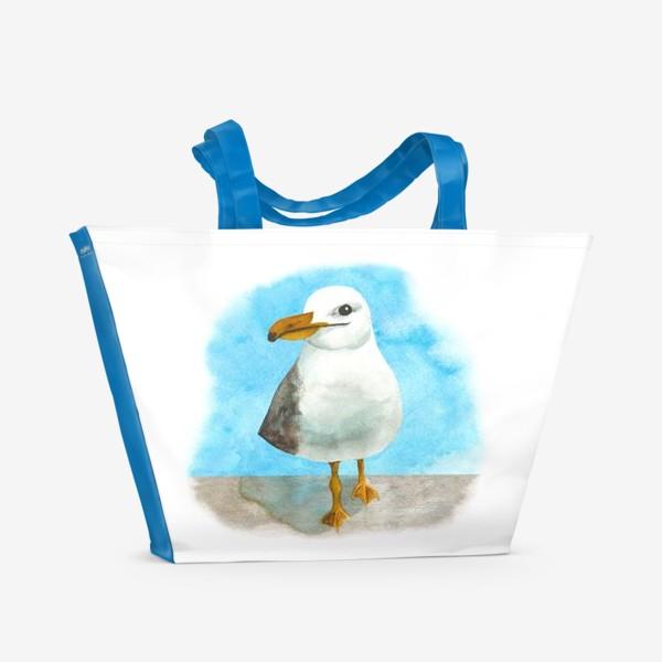 Пляжная сумка «Морская чайка»