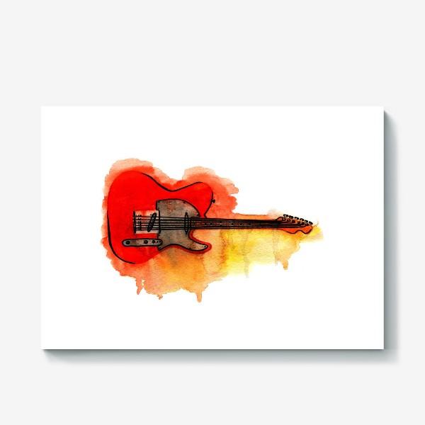 Холст «Гитара»