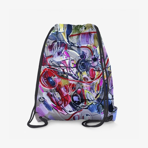 Рюкзак «Абстракция вишни »