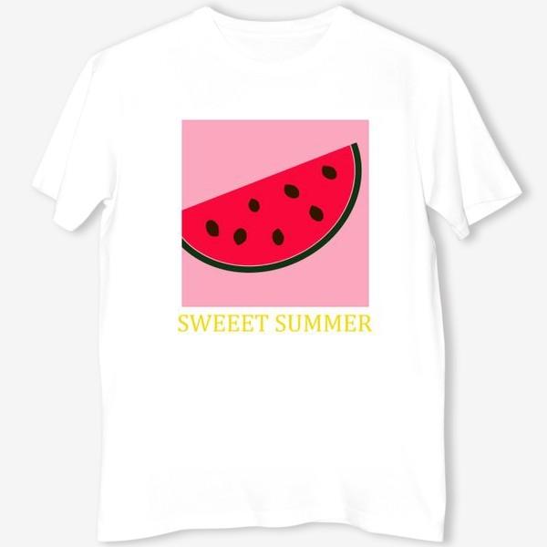 Футболка «принт Sweet Summer Арбуз»