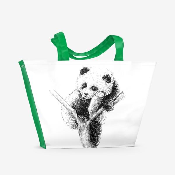 Пляжная сумка «Панда »