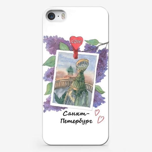 Чехол iPhone «Я люблю Питер»