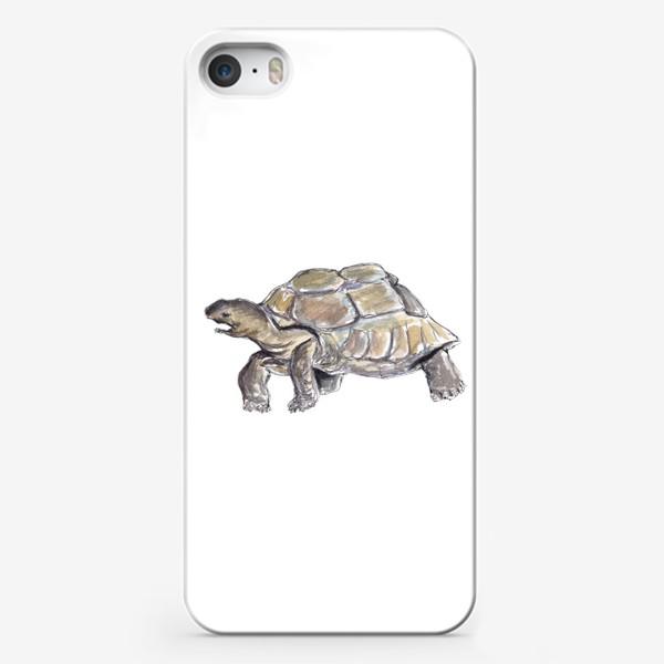 Чехол iPhone «Черепаха. Нас не догонишь...»