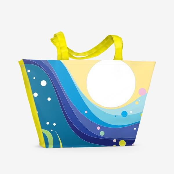 Пляжная сумка «Солнце над морем»
