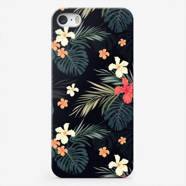 Чехол iPhone «Тропики и гибискусы»