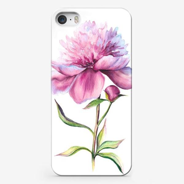 Чехол iPhone «Нежность пиона»