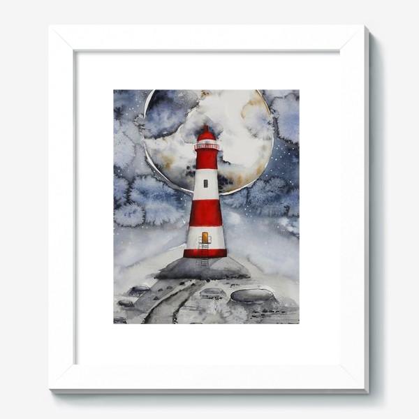 Картина «Маяк на Луне »