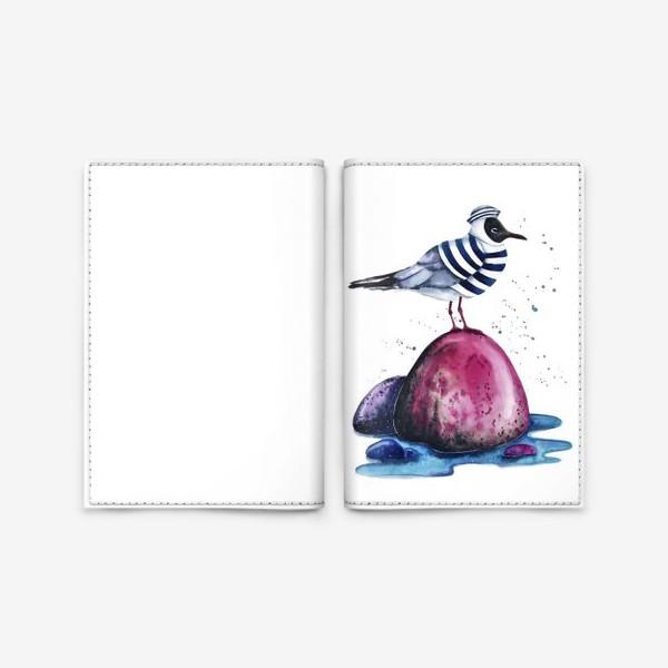 Обложка для паспорта «Морячок»