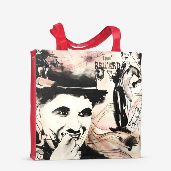 Сумка-шоппер «Чаплин . ретороспектива»