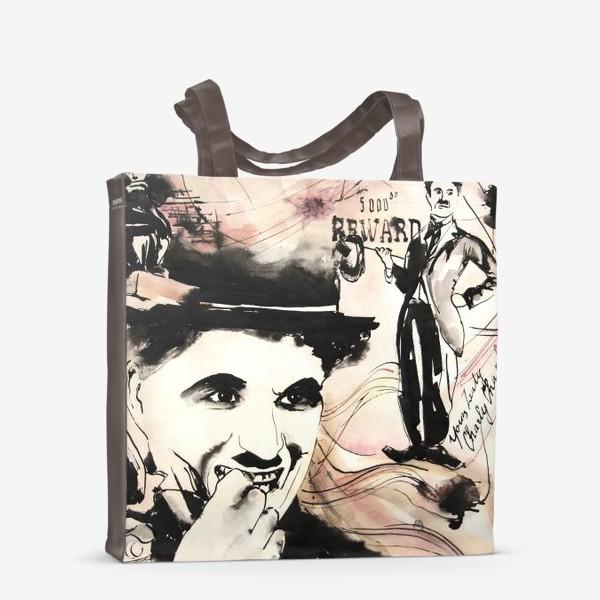 Сумка-шоппер «Чаплин . ретроспектива»