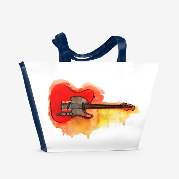 Пляжная сумка «Гитара»