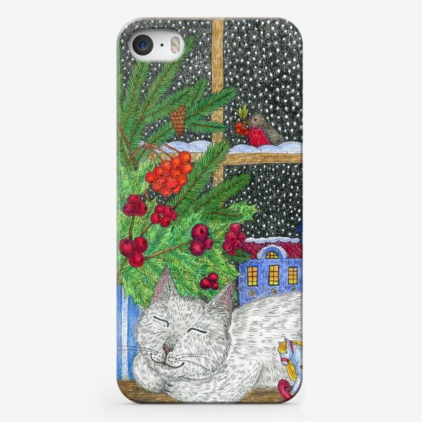 Чехол iPhone «Новогодний вечер»