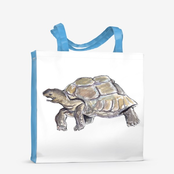 Сумка-шоппер «Черепаха. Нас не догонишь...»