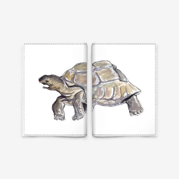 Обложка для паспорта «Черепаха. Нас не догонишь...»