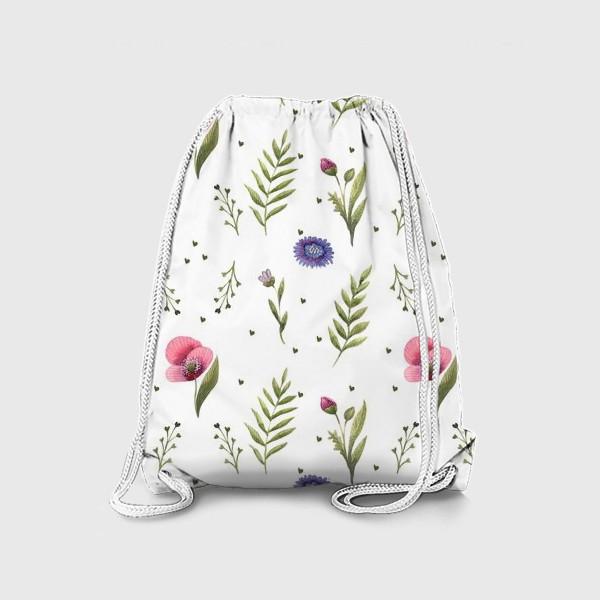 Рюкзак «Полевые цветы. Маки»