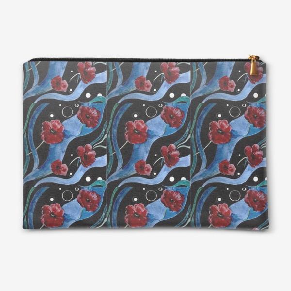 Косметичка «Маки под водой»
