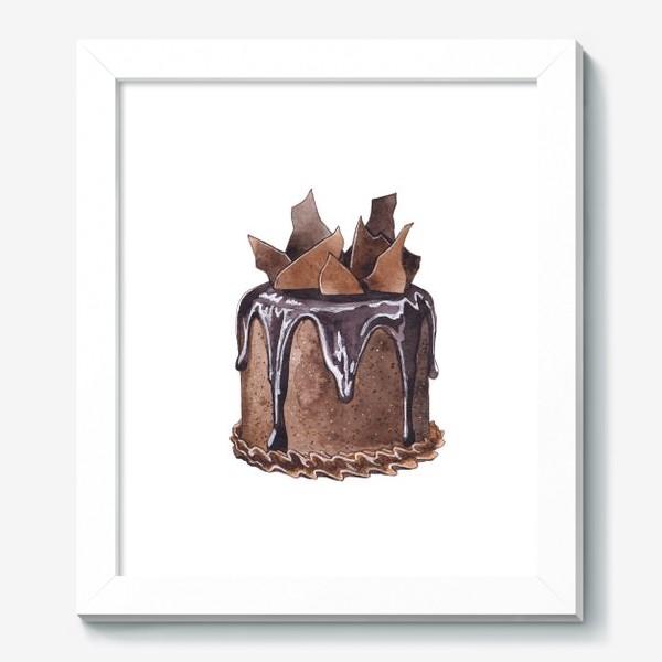 Картина «Шоколадный торт»