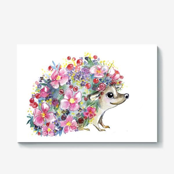 Холст «цветоёж»
