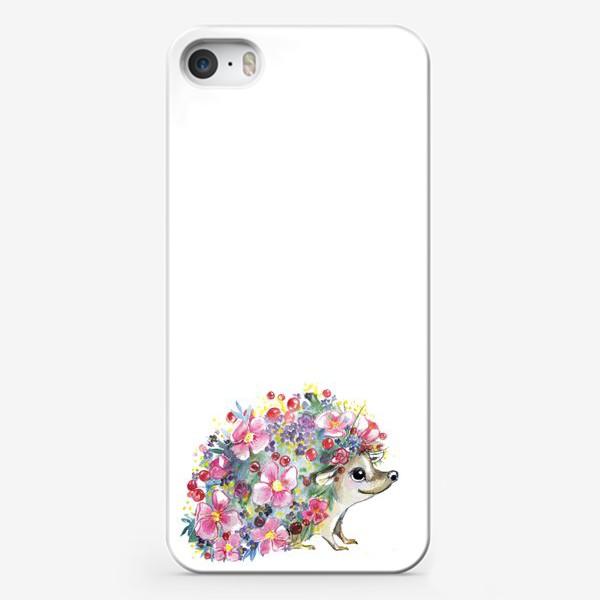 Чехол iPhone «цветоёж»
