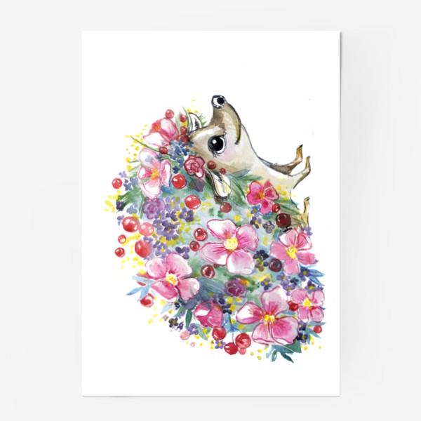 Постер «цветоёж»