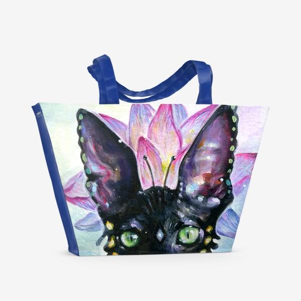 Пляжная сумка «Богиня Кошка»
