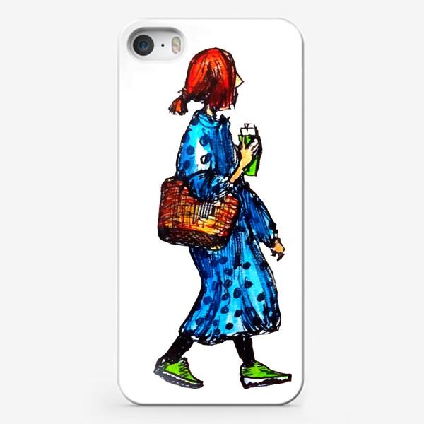 Чехол iPhone «фэшн скетч»
