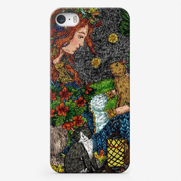Чехол iPhone «Тайна осени»