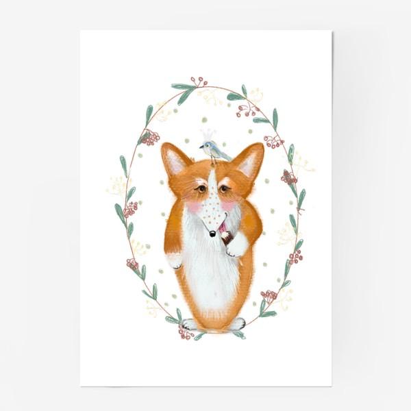Постер «любитель эскимо»