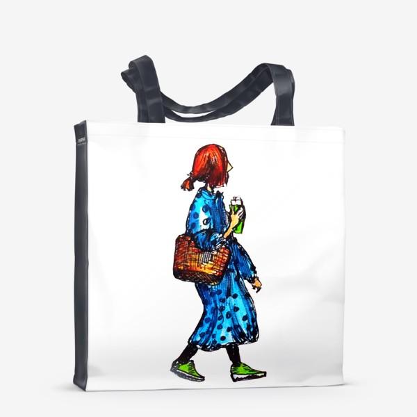 Сумка-шоппер «фэшн скетч»