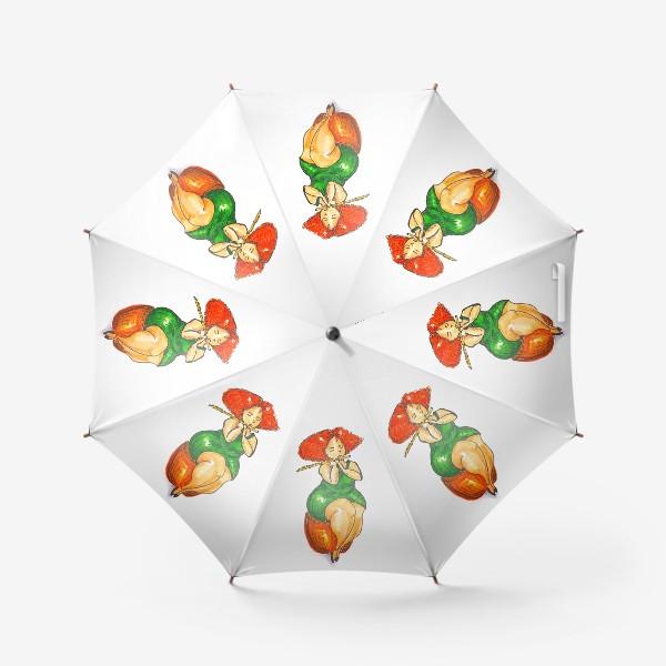Зонт «флейтистка»