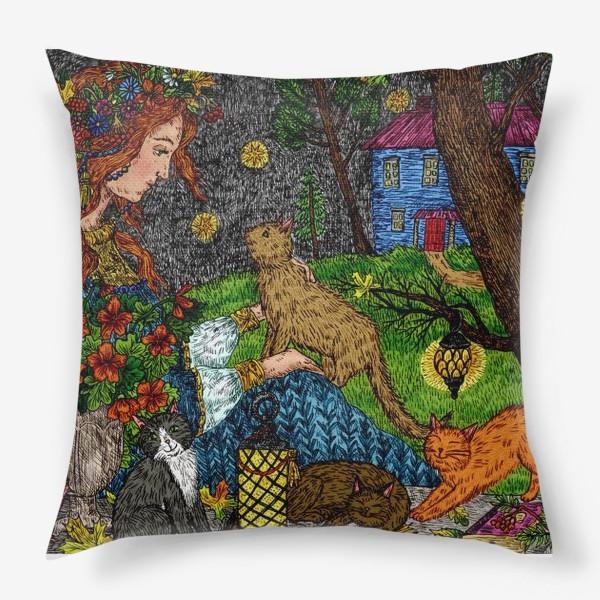 Подушка «Тайна осени»