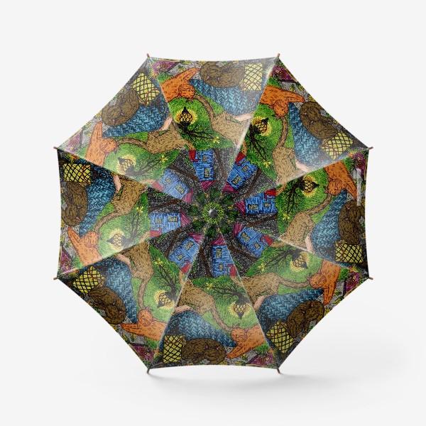 Зонт «Тайна осени»