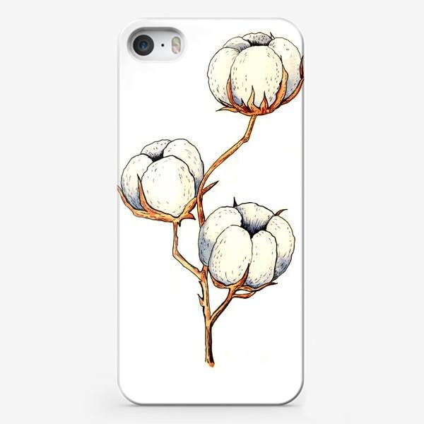 Чехол iPhone «БЕЛЫЙ ХЛОПОК»