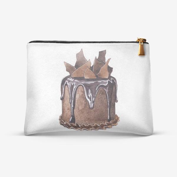 Косметичка «Шоколадный торт»