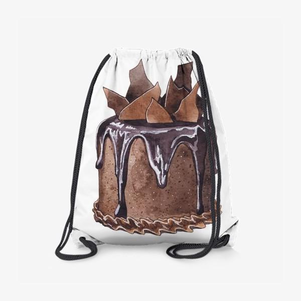 Рюкзак «Шоколадный торт»