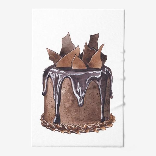Полотенце «Шоколадный торт»