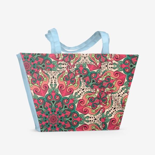 Пляжная сумка «Паттерн Malena»