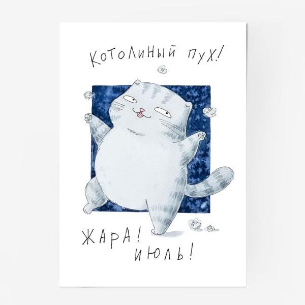 Постер «Котолиный пух»