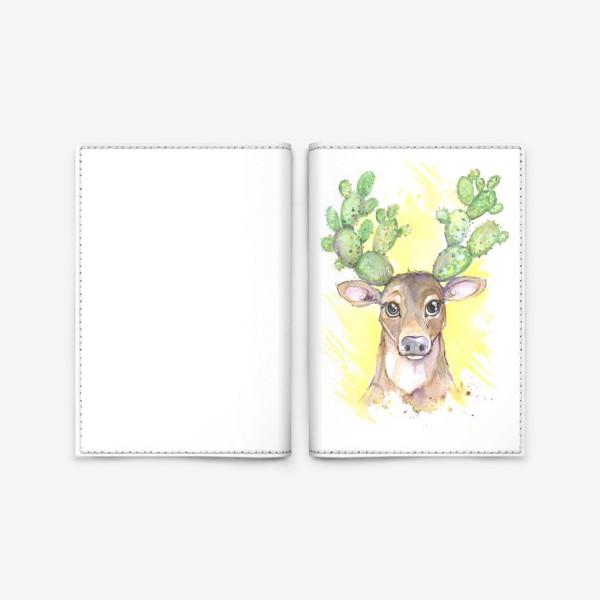 Обложка для паспорта «олешка»