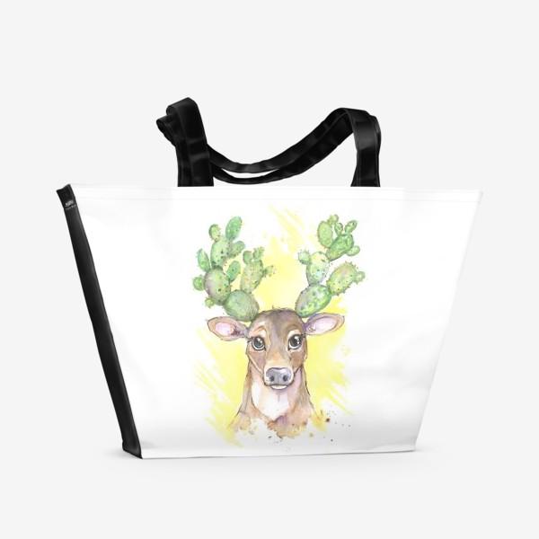 Пляжная сумка «олешка»