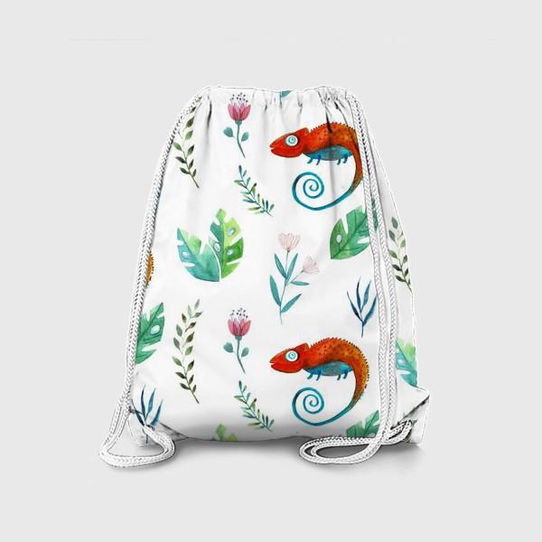 Рюкзак «Про хамелеона»