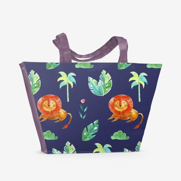 Пляжная сумка «Царь зверей»