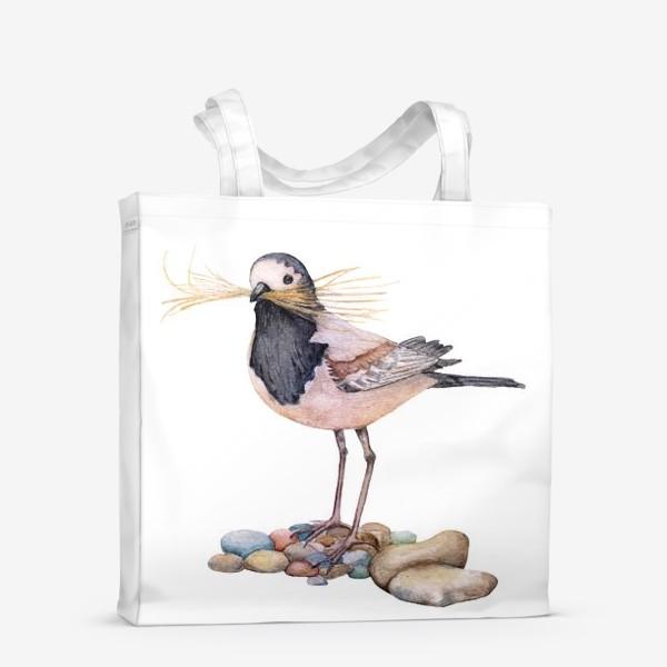 Сумка-шоппер «Птичка»