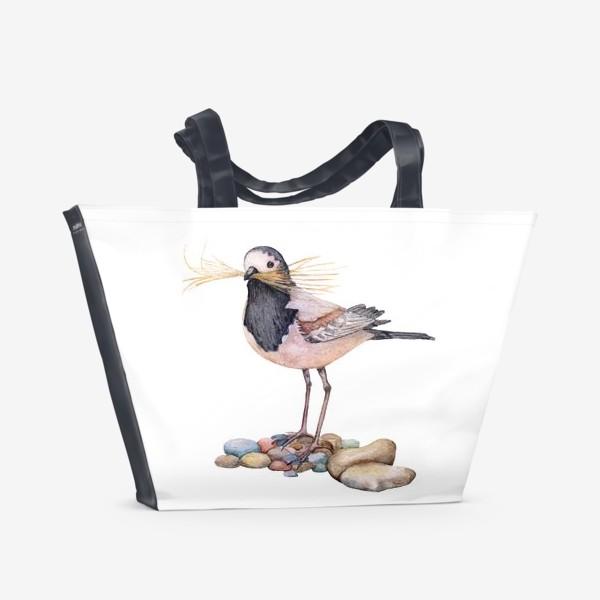 Пляжная сумка «Птичка»