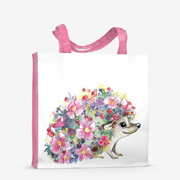 Сумка-шоппер «цветоёж»